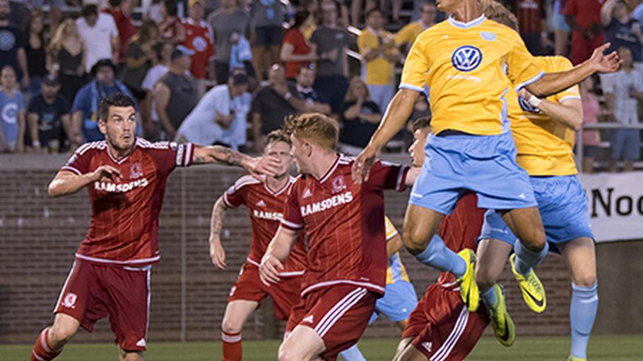 CFC falls to England's Middlesbrough | News | Chattanooga FC